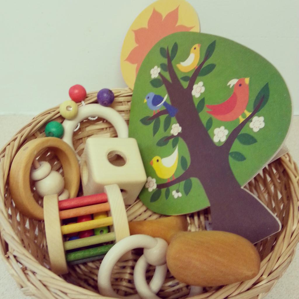 Montessori toys for 0-6 months